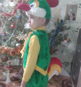 Новогодний костюм петушка от 4 до 6лет