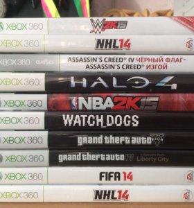 Xbox 360 с играми