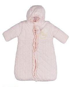 Конверт Linas Baby розовый 68 рост