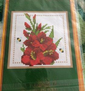 """Набор для вышивания """"Прекрасные цветы"""""""