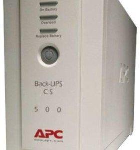Источник бесперебойного питания apc bk500-rs