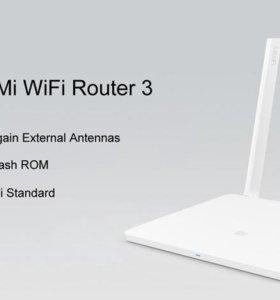 Xiaomi Mi router 3 (new, рус,2,4 и 5 ГГц, Padavan)