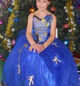 Платье для девочки 10-11