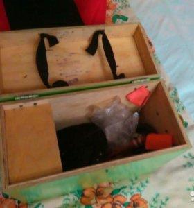 Ящик для зимней ловли