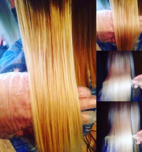 Запайка волос