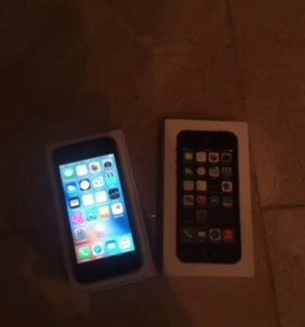 Айфон 5s 16г чёрный