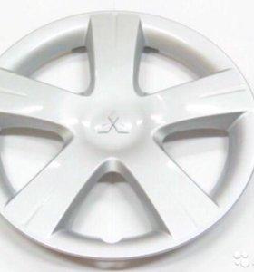 Штампованные диски r15 от лансера 9 с колпаками