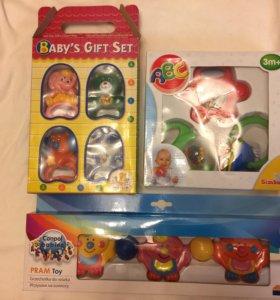 Детские игрушки новые🎈🎈🎈