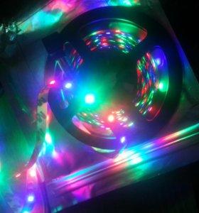 Светодиодные ленты.  RGB