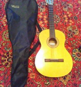 Гитара Augusto ACG-100 SE вместе с чехлом
