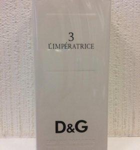 D&G N 3 L'imperatrice 100 мл