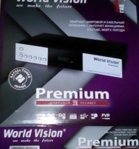 World Vision Premium DVB-C & DVB-T2