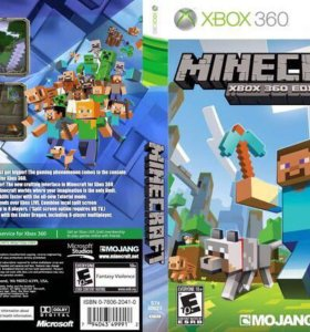 """Игра """"Minecraft"""" на игровую приставку """"XBOX 360"""""""