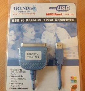 Конвертор usb/параллельный порт 1284