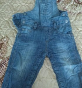 Комбинезон джинсовый тонкий