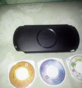 Игровая приставка сони PSP