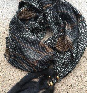 Новый шарфик с норкой