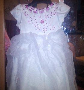 Красивое пышное платье на девочку