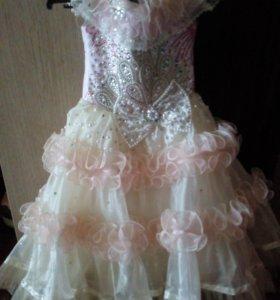 Бальной  платье для девочки