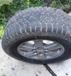 Продам колеса для pajero 3-4