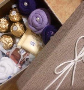 Подарочные наборы и букеты