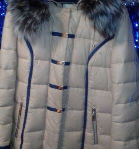 Зимнее пальто- куртка