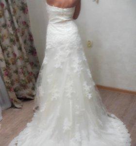 Свадебное платье(новое)