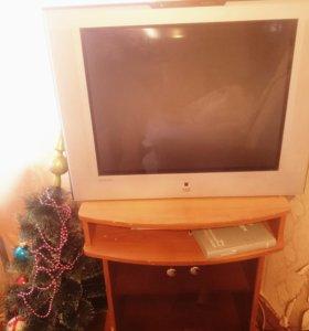 Продам тумбк и телевизор вместе или отдельно цена