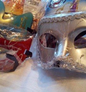 Маски карнавальные в ассортименте