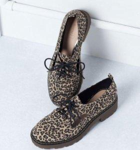 Туфли с вырезом bershka
