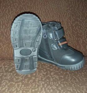Новые зимние ботиночки!21 размер