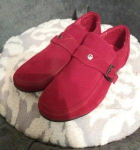 Туфли замшевые 35 размер
