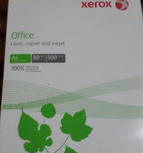 Бумага А4 . Целая упаковка. 500 листов.