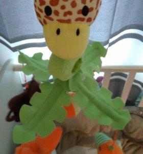 Мобиль на кроватку Жираф