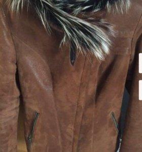 Дублёнка пиджак
