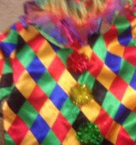 Карнавальный костюм -Арлекино размер 110, на 4-5 г