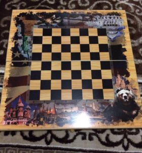 Продам нарды шахматы шашки 3в1, 50*25 см.