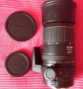 Объектив Sigma 135-400 mm F4.5-5.6 APO Canon