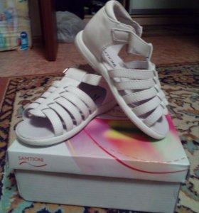 Туфли белые новые
