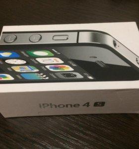 iPhone 4S, Black, 32GB