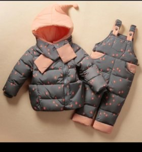 Комбинезон 110 новый комплект куртка штаны зимний