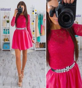 Кружевное платье новое