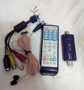 TV тюнер для оцифровки видеокассет и для пр ТВ
