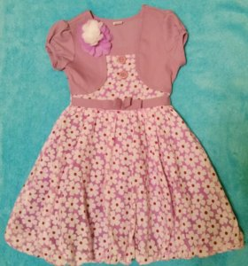 Нарядное платье на 2-3 года.