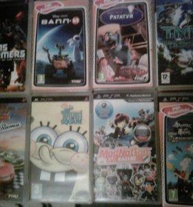 Игры для приставки PSP