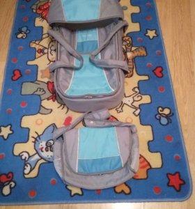 Переноска+ сумка на коляску