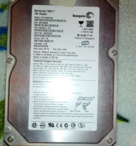 Жесткий диск Seagete Baracuda 160 gb