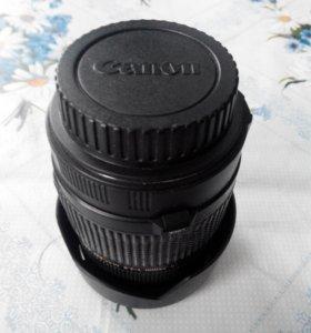 Объектив tamron на Canon
