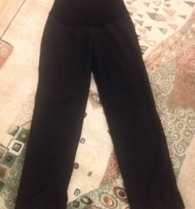 Зимние брюки для беременных на флисе L 48-50