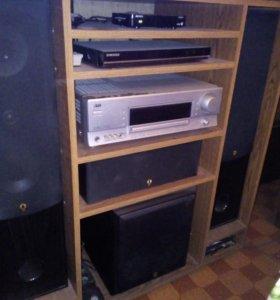 Аудио-видео контрол ресивер JVC  Rx-5062,колонки